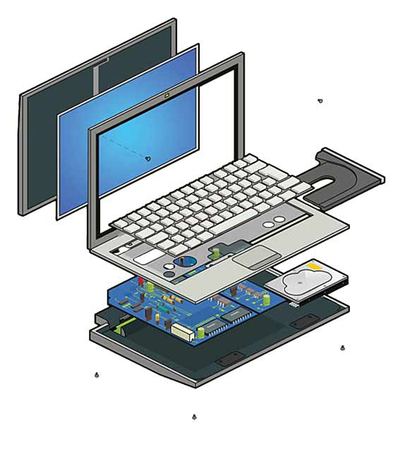 hardware repair laptop