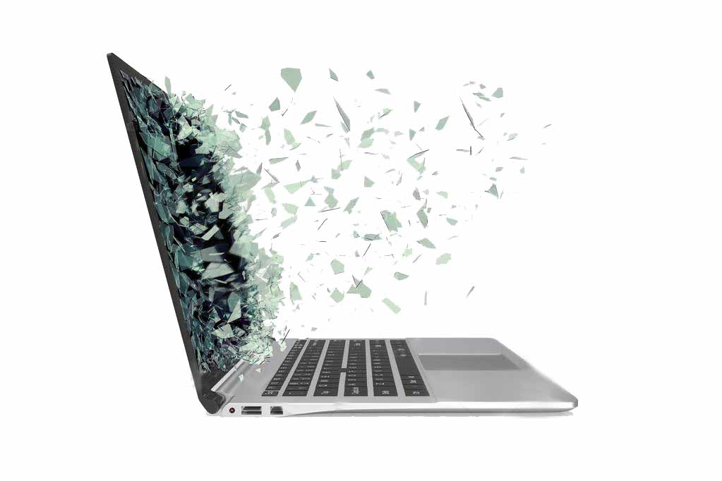Laptop broken screen replacement